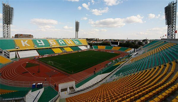 "На фото: стадион ""Кубань"""