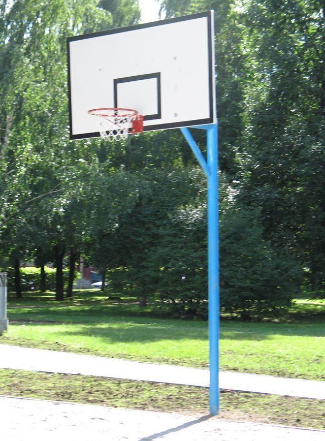 Баскетбольные щиты и стойки для улицы своими руками