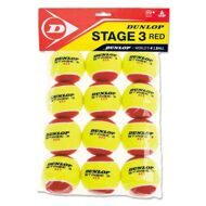 Мячи Dunlop Stage 3 (RED) 12B
